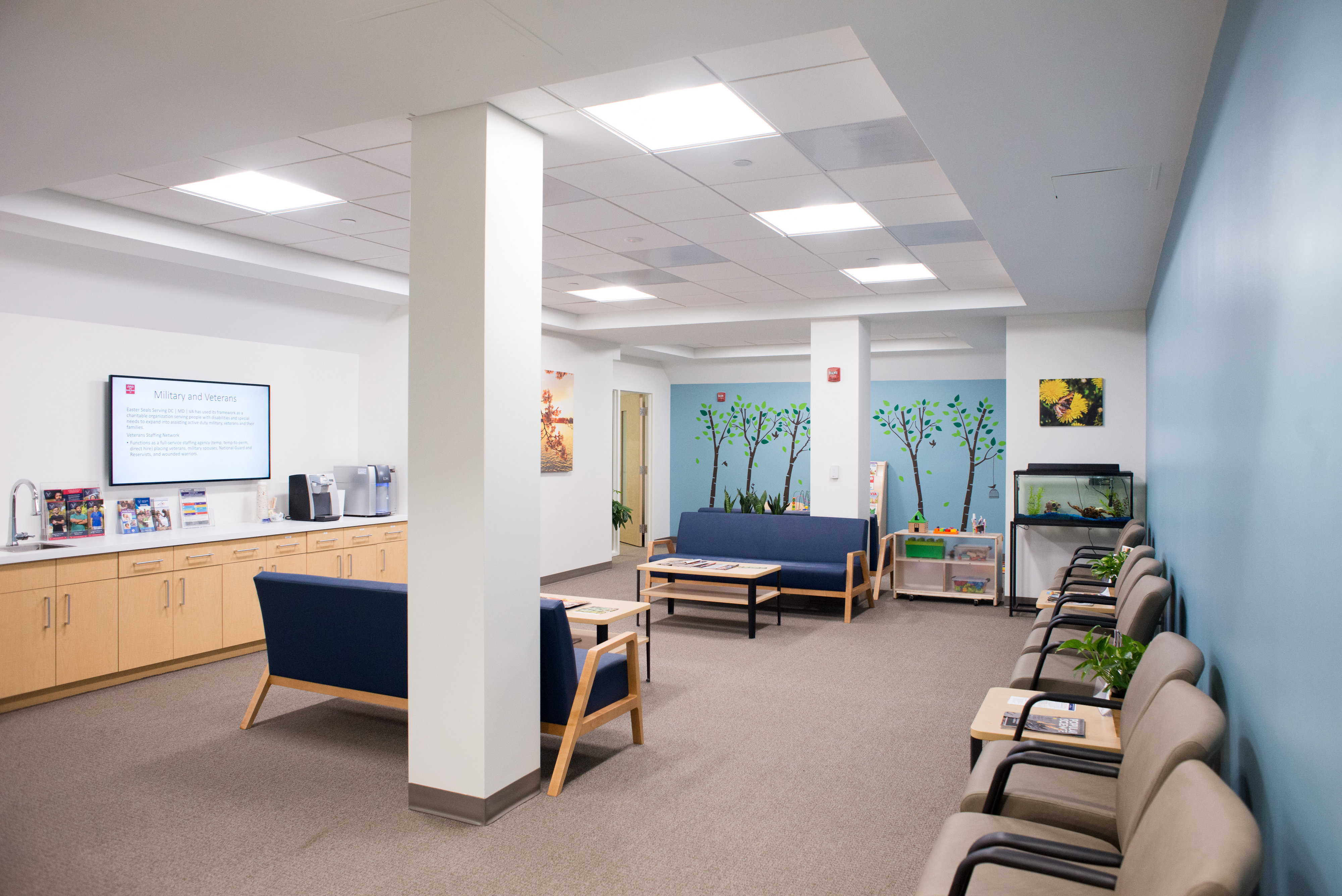 Cohen Clinic Waiting Room