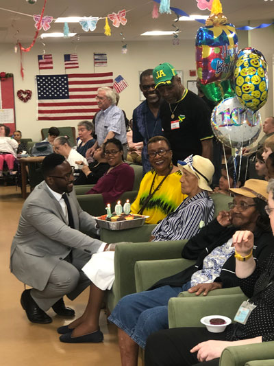 Ms. Louise's 100th Birthday