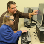 Occupational therapy and technology training for adults with disabilities