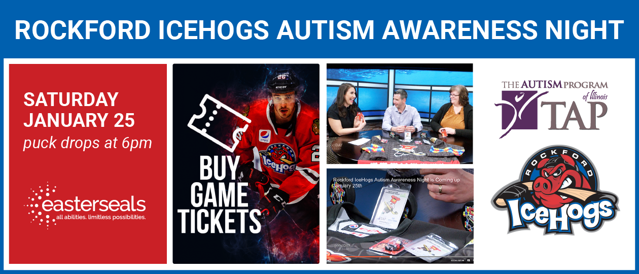 Autism Awareness Night with the Rockford Icehogs