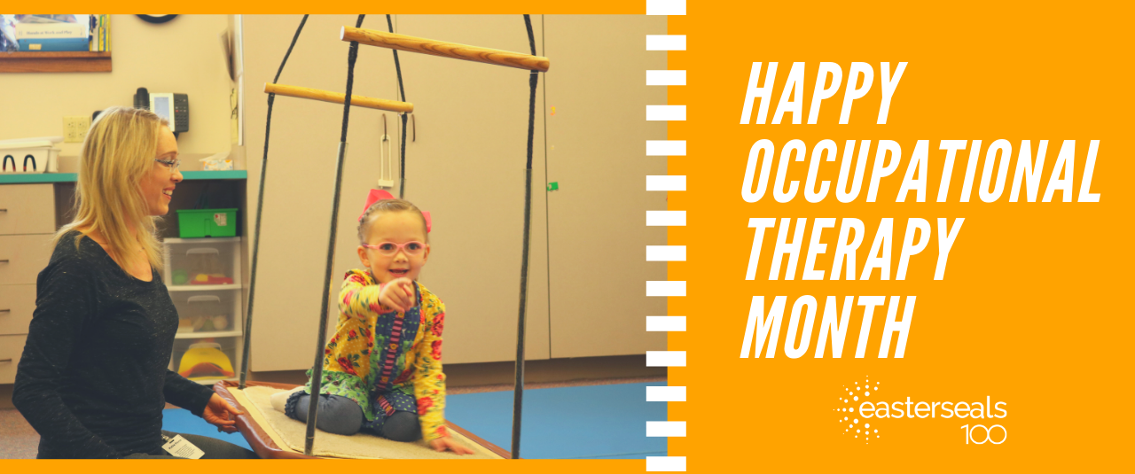 We are celebrating Occupational Therapy Month in April!