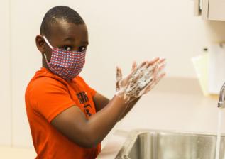 Kamari Washing Hands