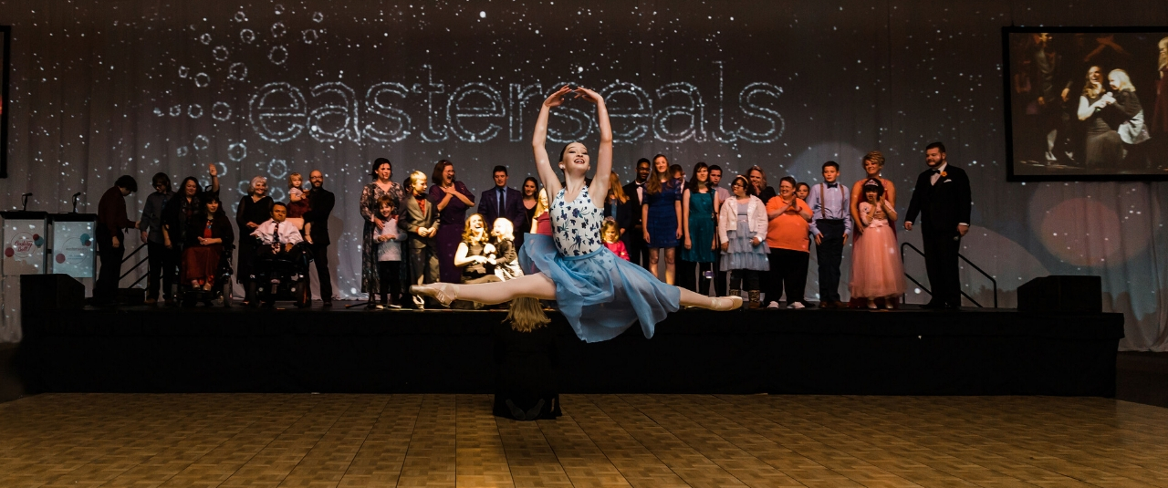 Easterseals Ambassadors sing A Million Dreams at the Easterseals Century Ball