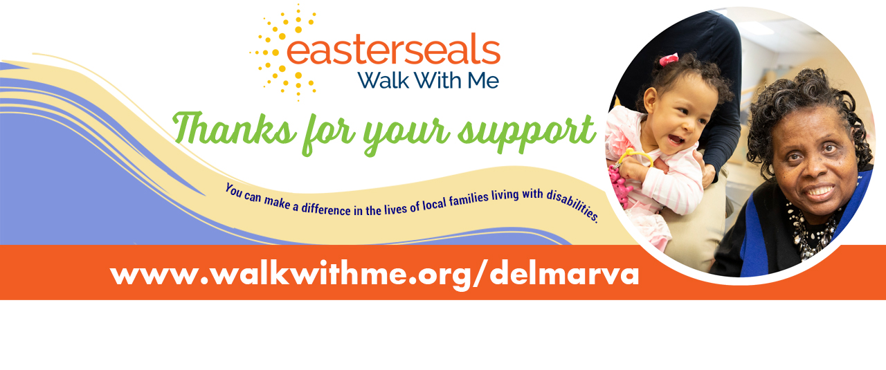 Easterseals Walk With Me is a fundraising event to raise awareness and support for families living with disabilities. Join family and friends on Sunday, October 13 for a full day of entertainment and fun!