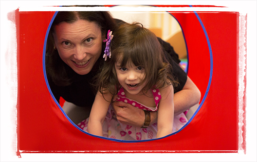 Izzy is making strides receiving children's therapy services at Easter Seals.
