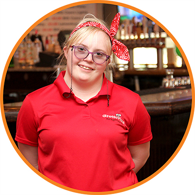 Easterseals recognizes Supported Employment month and celebrates Mikayla.