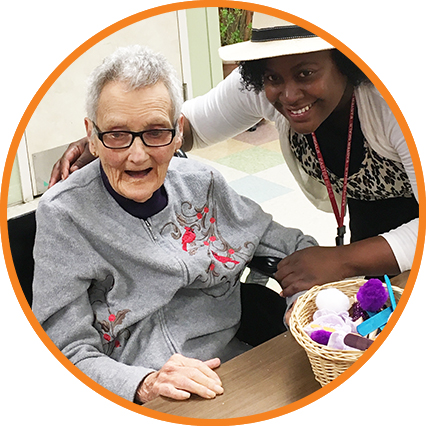 Caring for a spouse or elderly parent going through the stages of Alzheimer's disease or some other form of dementia can be overwhelming. Turn to Easterseals!