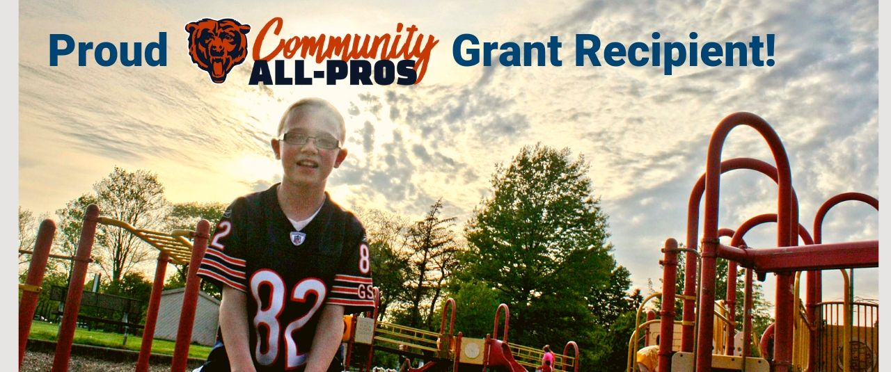Proud recipient of the Chicago Bears AllPro Grant