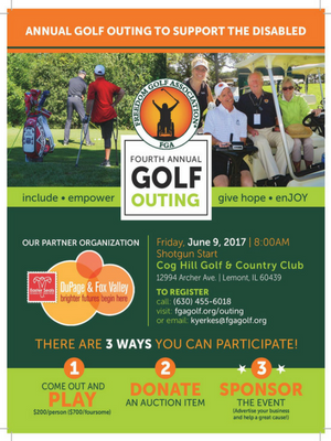 Golf Outing Flyer 2017