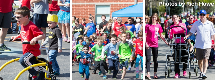 Kids at Run for the Kids