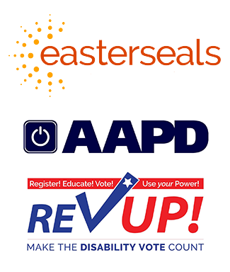 Revup and easterseals logos