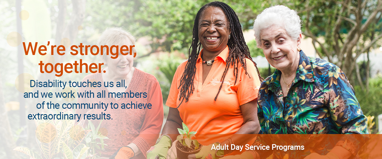 winter park, gainesville, disabilities, adult center, daycare, senior care, alzheimers, dementia, respite