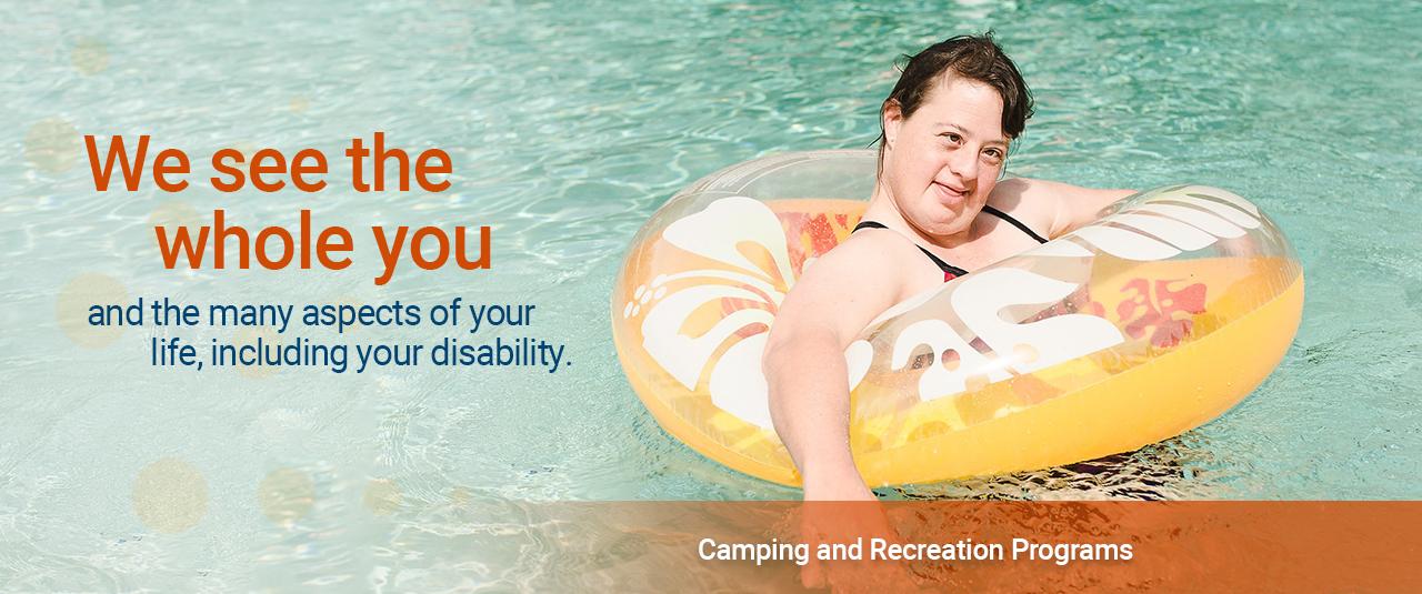 camp, recreation, children, adults, outdoor, disabilities, camping, cabins, pool, ziplining, easterseals florida, sorrento
