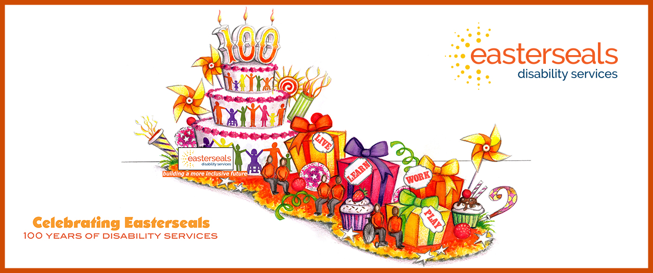 Easterseals celebrates 100 years of disability services with a float in the Rose Parade