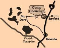 Camp Challenge Map