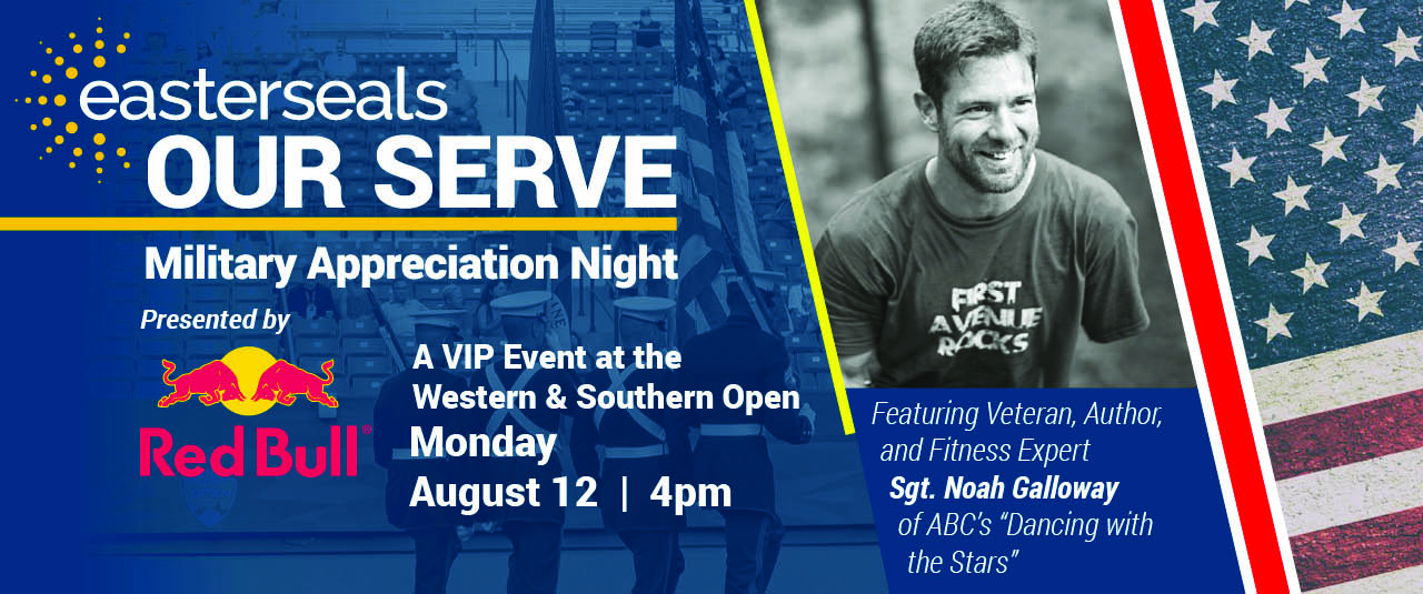 Our Serve Military Appreciation Night Promotional Graphic