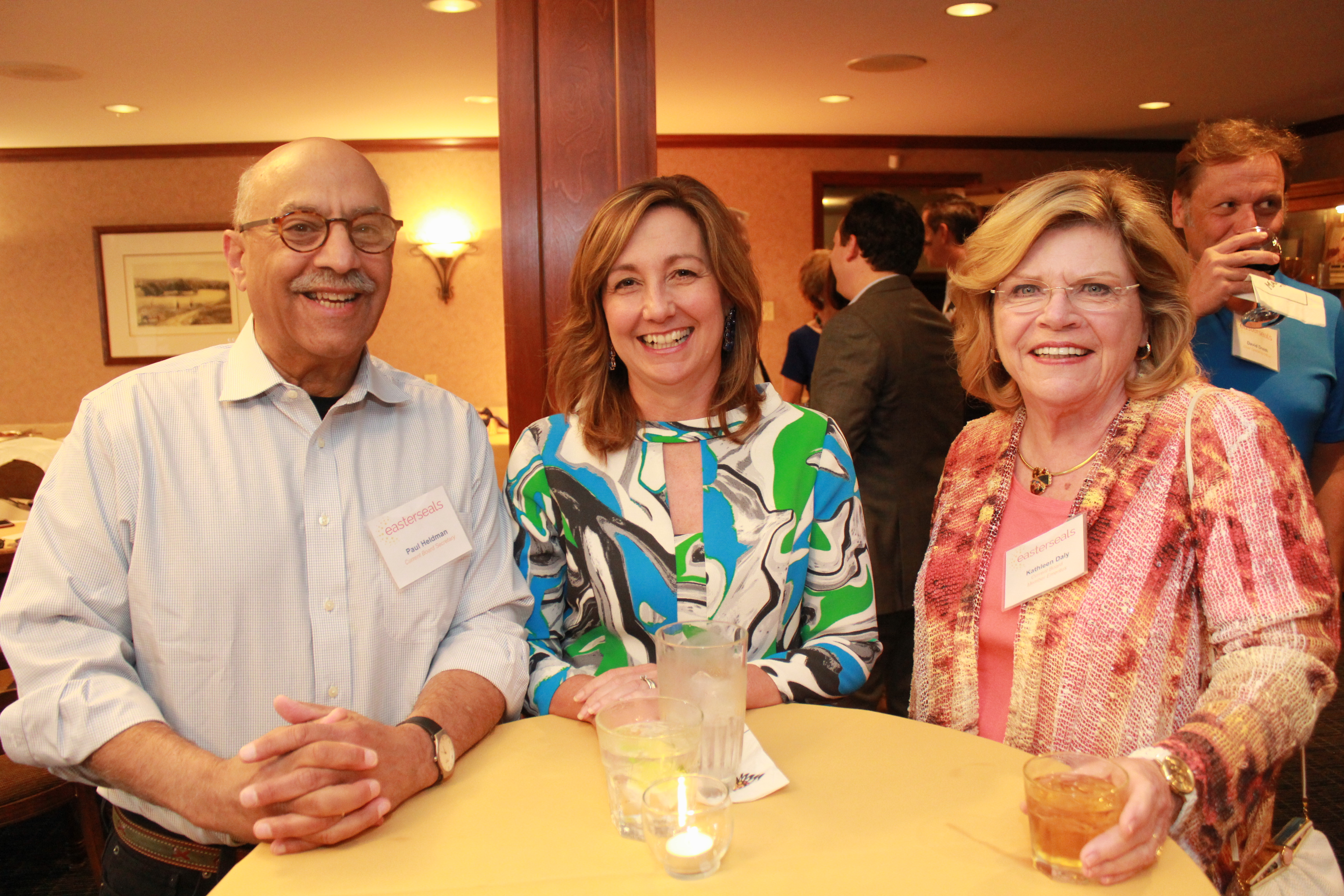 Picture of Paul Heldman, Kathy Daly, and Pam Green