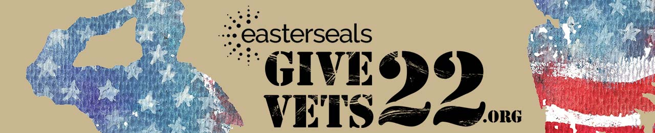 Easterseals Give Vets 22 RWB Banner Image