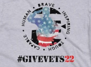 GiveVets22 Limited Edition T-Shirt