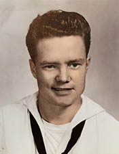 Roy Fulps during his time in the US Navy.