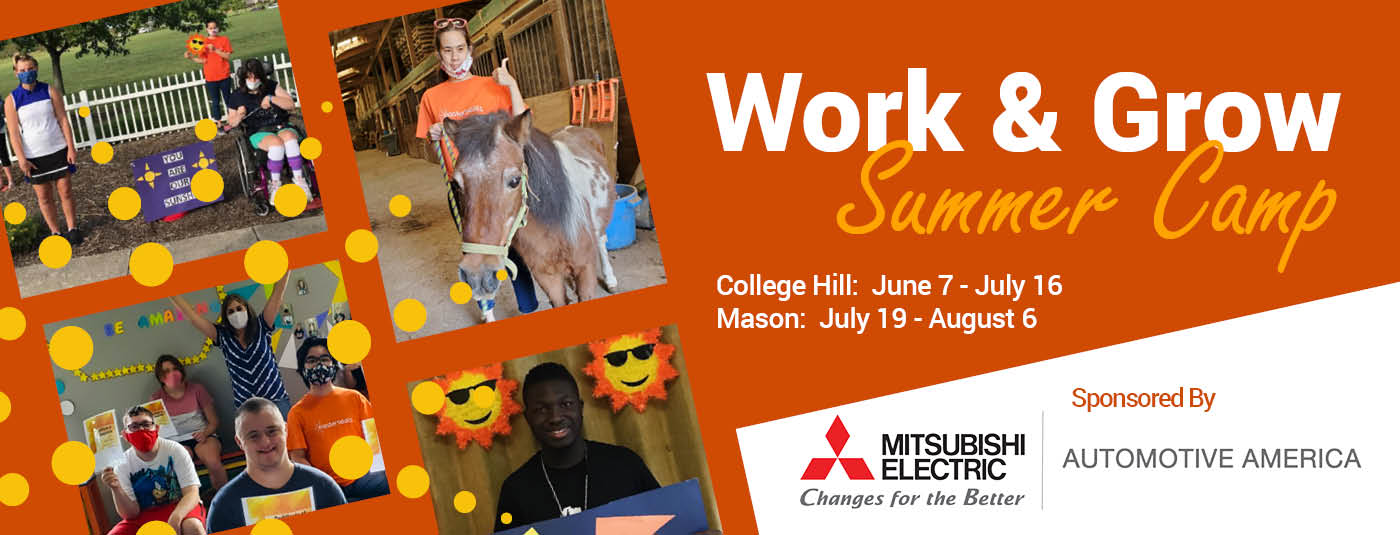 Summer Work & Grow 2021 home page