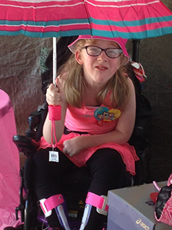Allison Under an Umbrella
