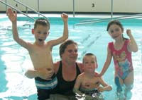 Swim lessons are available for individuals and groups of all abilities.