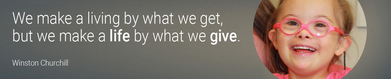 Banner_Zoie_Make a life by what we give