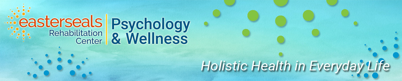 Psychology & Wellness with tagline & watercolor background