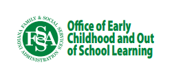 Indiana Office of Early Childhood and Out of School Learning logo