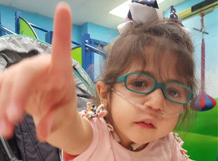 Give to our Year End Campaign to help kids like Ariana!