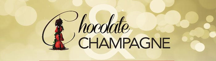 Chocolate & Champagne website header 2016