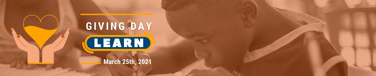 Giving Day LEARN banner