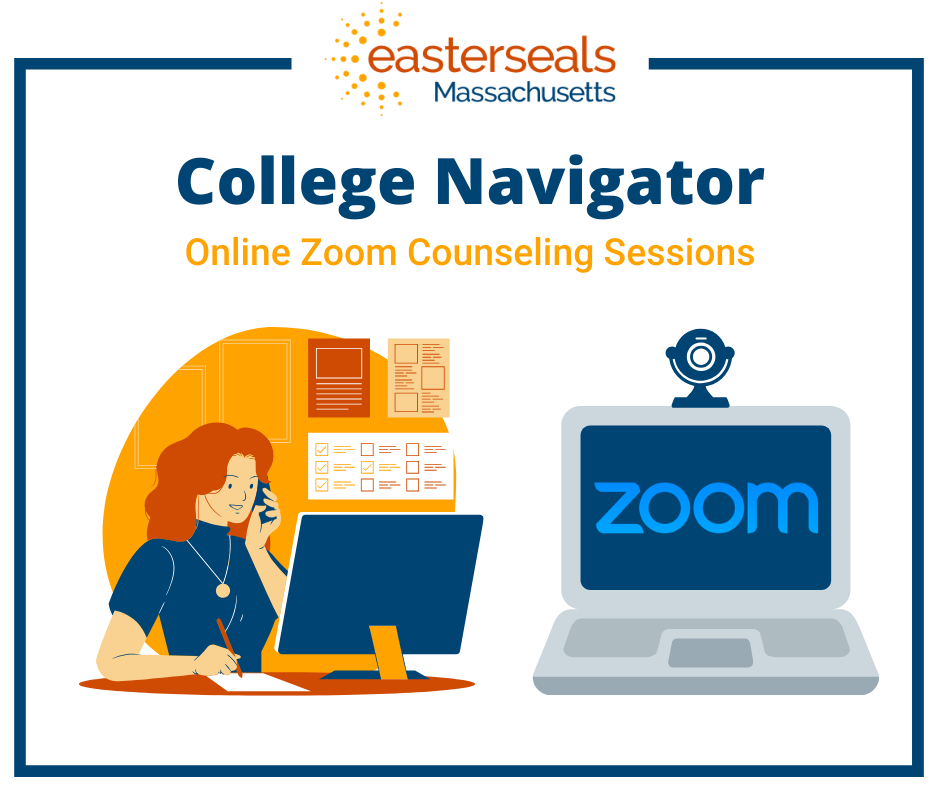 illustration of young adults using zoom to conference call
