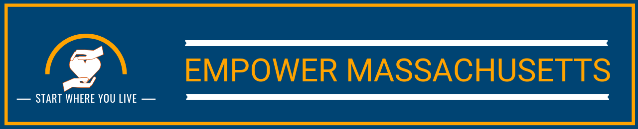 empower mass- outline-blue, yellow lines