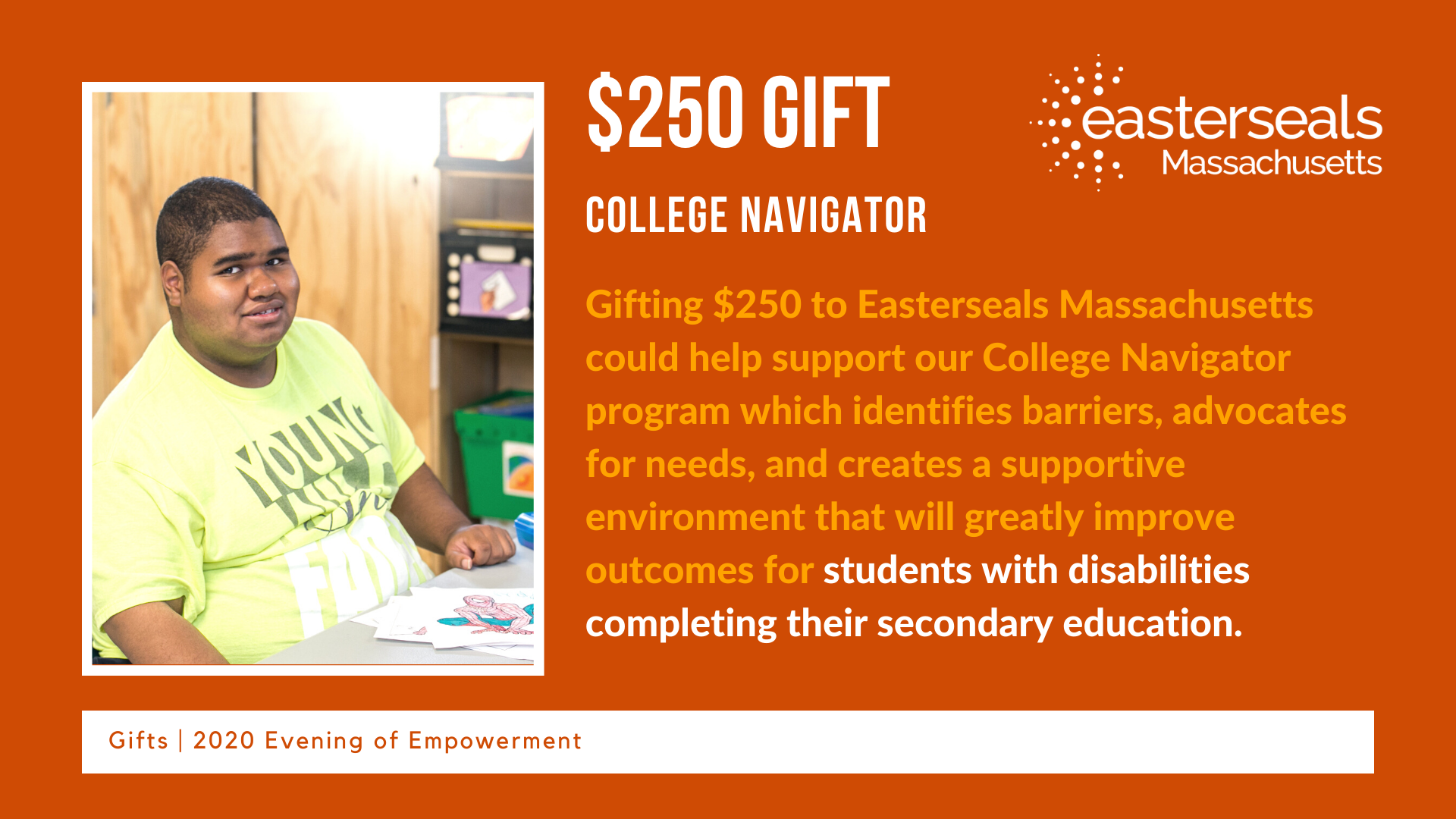 $250 could help give someone access to College Navigator