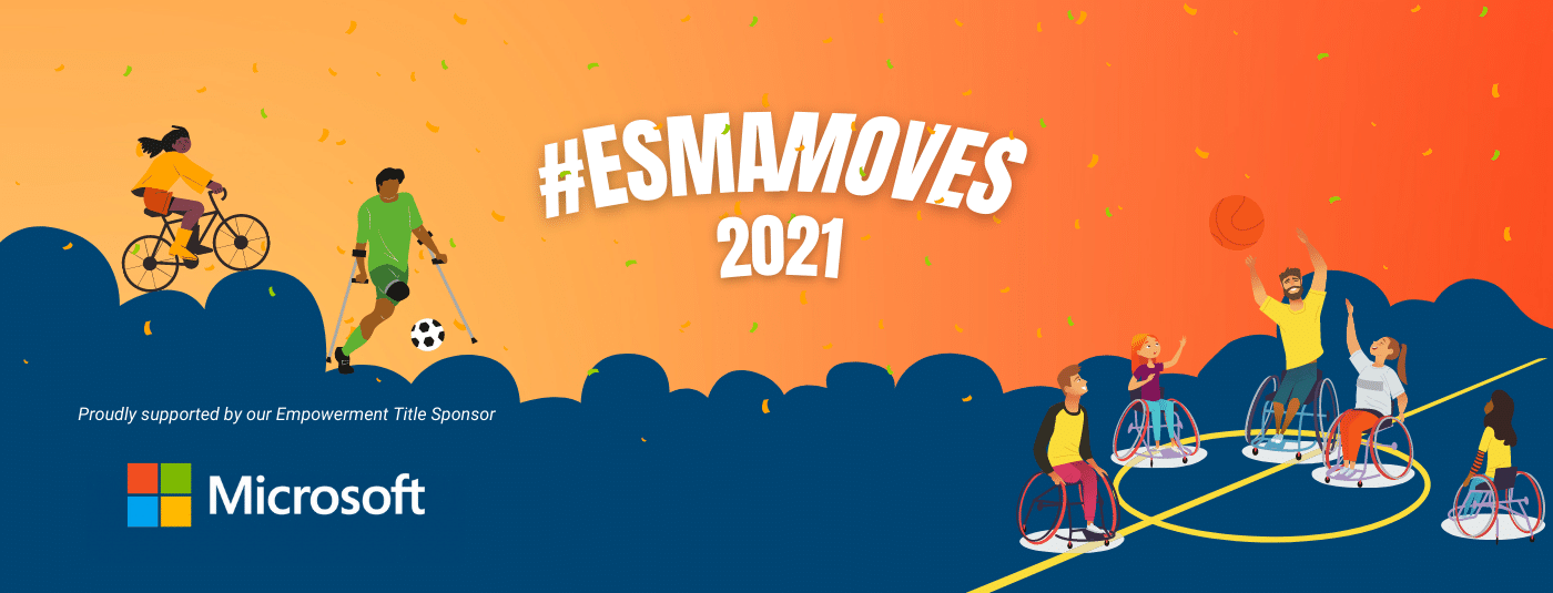 ESMAMoves 2021 Hero Slide