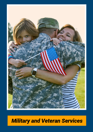 military and veteran services