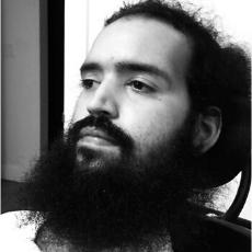Cesar portrait photo in black and white
