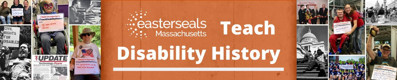 teach disability history header