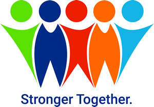 Stronger Together Graphic