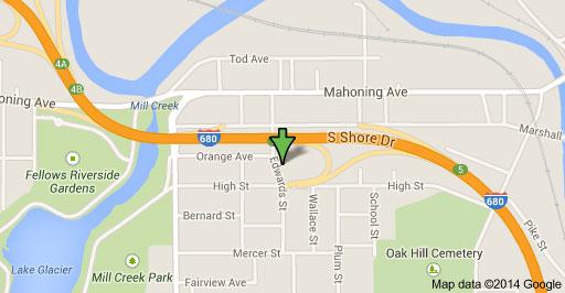 Edwards Street Google Map