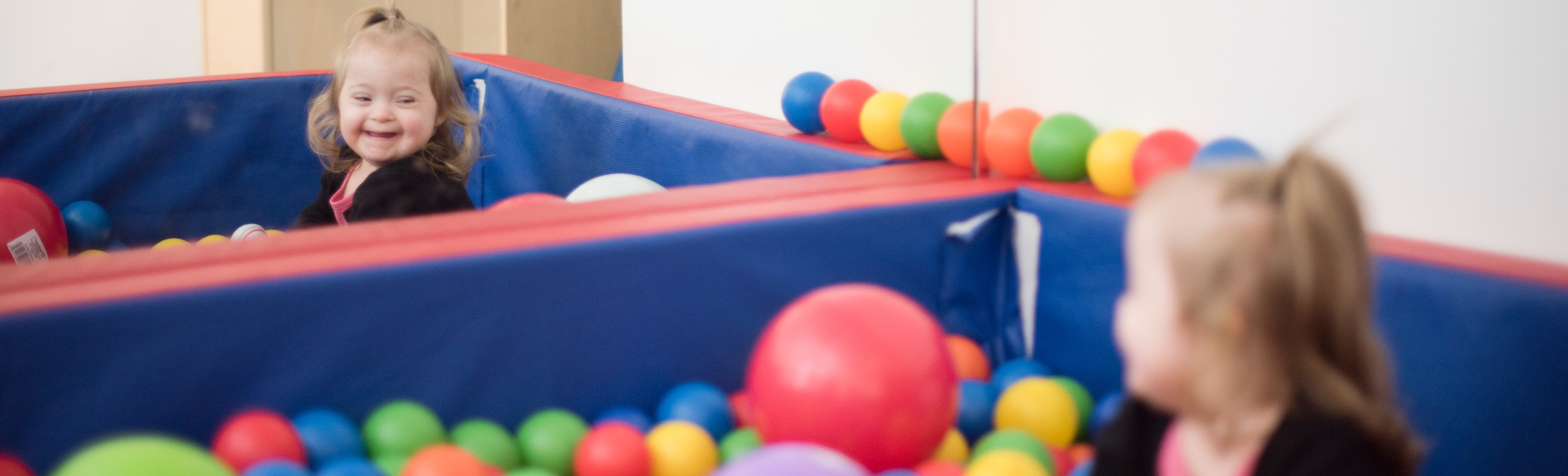 Ballpit with Quinn Banner Graphic