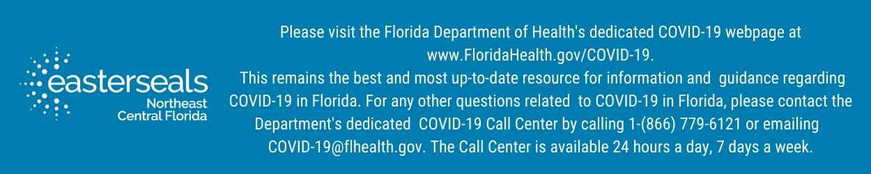 Easterseals COVID health department - blue