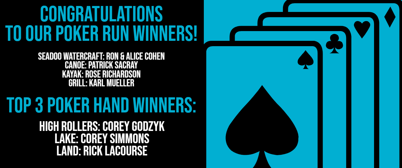 Congrats to our winners!