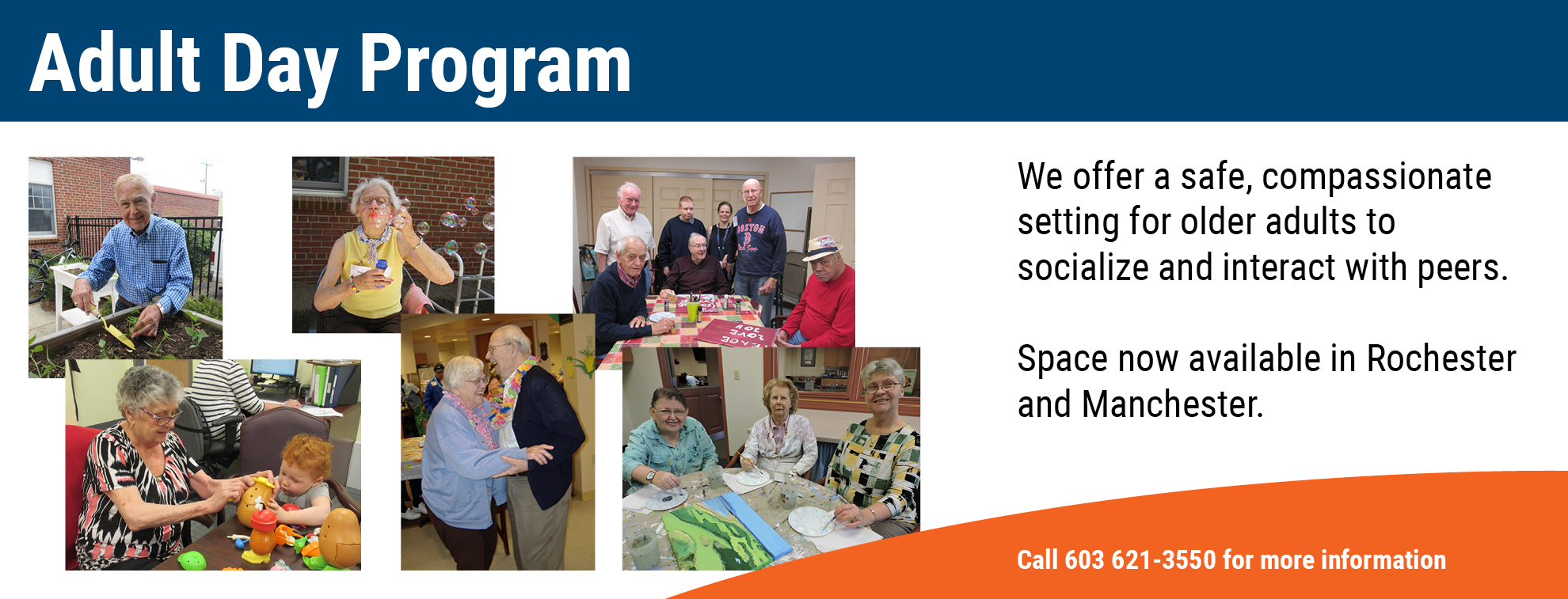 Adult Day Services Banner