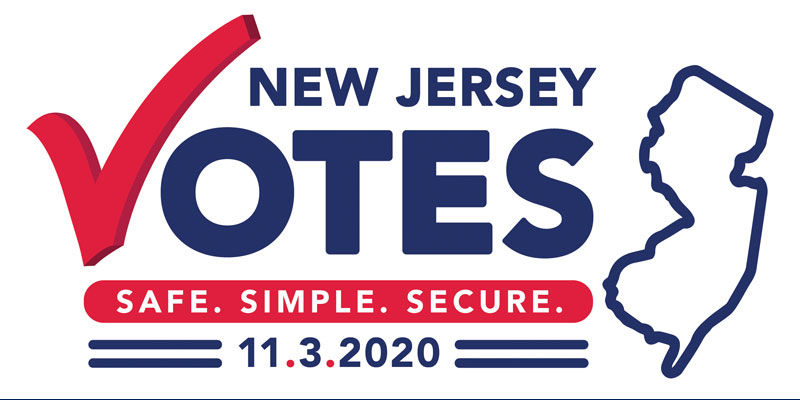 Vote 2020 NJ Safe and Secure