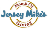 Jersey Mikes Month of Giving