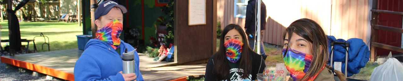 Masked Campers Banner