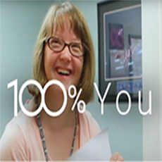 Be 100% you and celebrate 100 years with Easterseals